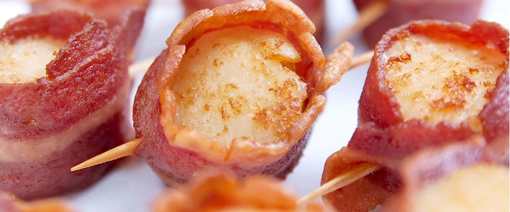 Frozen - Scallops Wrapped in Bacon