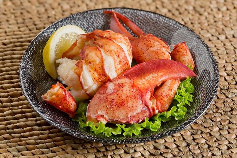 Fresh Cooked Lobster Meat, Tail Claw & Knuckle (20%, 30%, 50%)